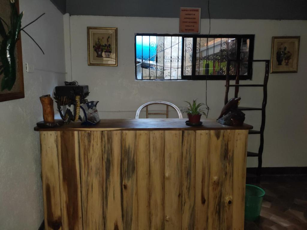 A kitchen or kitchenette at Elnido Blessed Homestay
