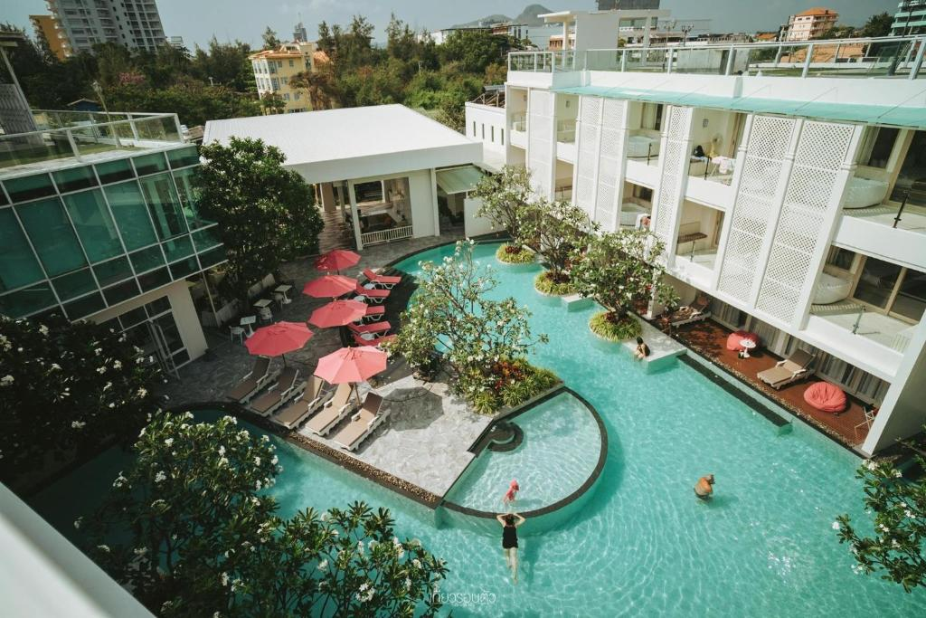 A view of the pool at The Sea Cret Hua Hin or nearby