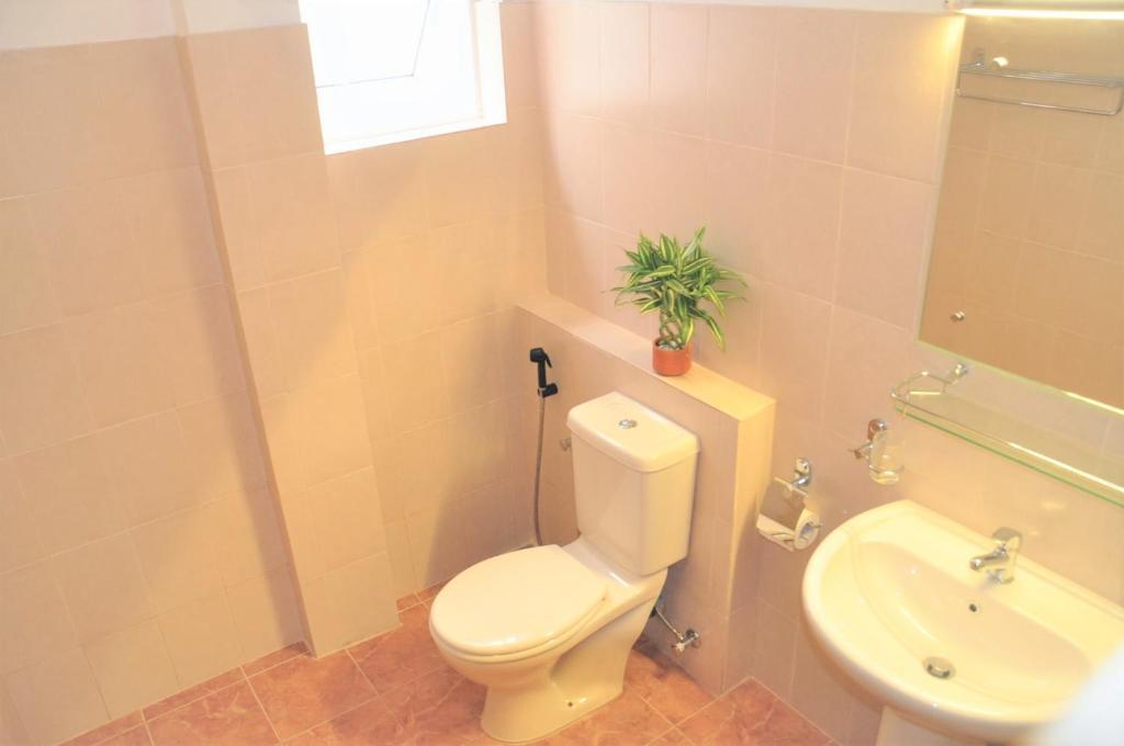 A bathroom at ACA B&B