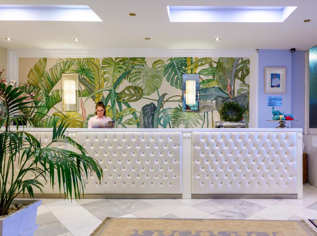 Ο χώρος του λόμπι ή της ρεσεψιόν στο Secret Paradise Hotel & Spa