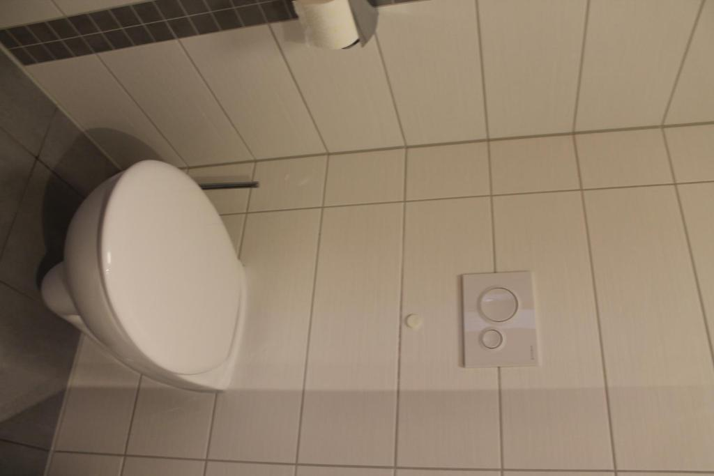 A bathroom at Pension Take Off
