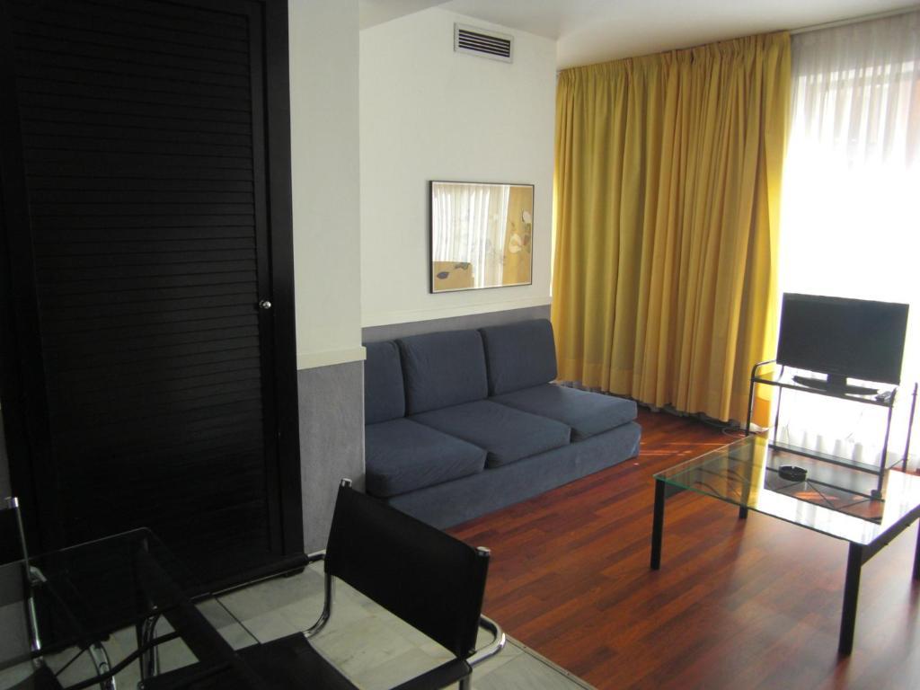 Zona de estar de Apartamentos Descartes