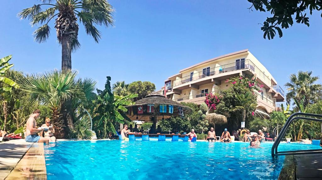 The swimming pool at or near Hotel Kalithea