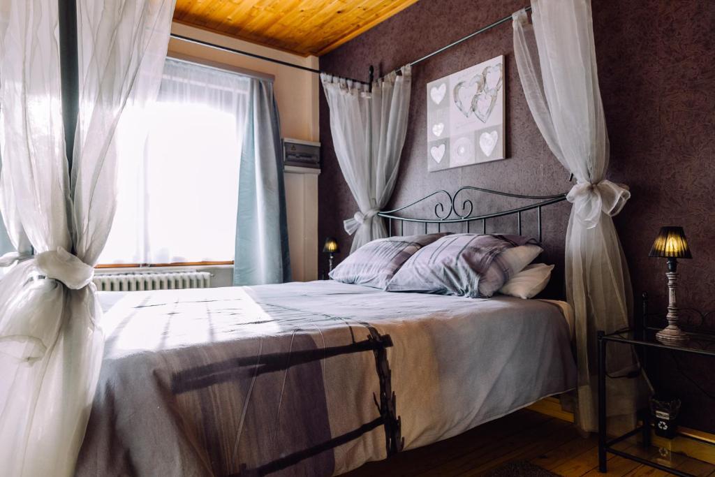 Un ou plusieurs lits dans un hébergement de l'établissement 't Eenvoud