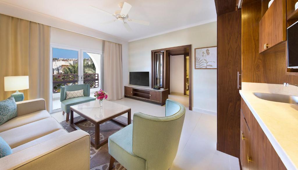 Зона вітальні в Sharm Dreams Vacation Club - Aqua Park