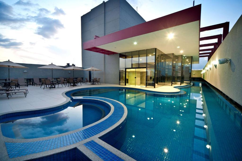 The swimming pool at or near Radisson Hotel Belém