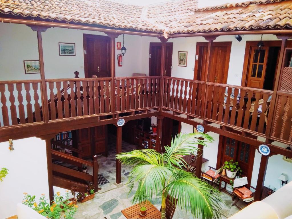 Vista de la piscina de Casa Rural Los Helechos o alrededores