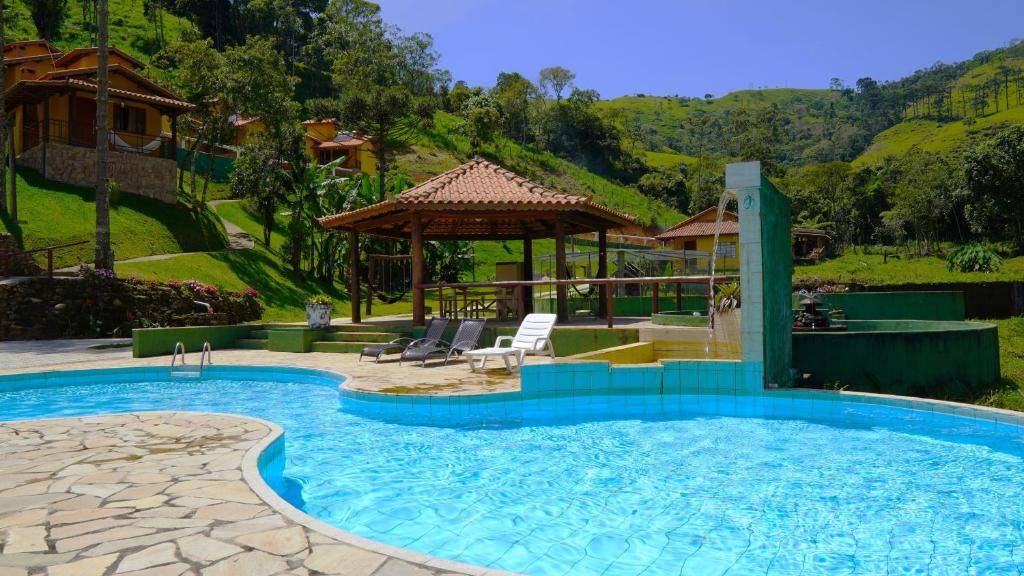 A piscina localizada em Pousada Sitio do Visconde ou nos arredores