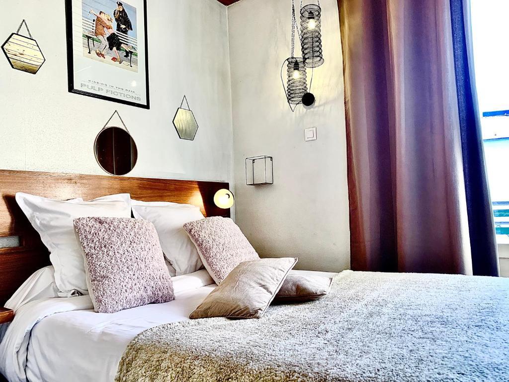 Un ou plusieurs lits dans un hébergement de l'établissement Le Relais de la Vanoise