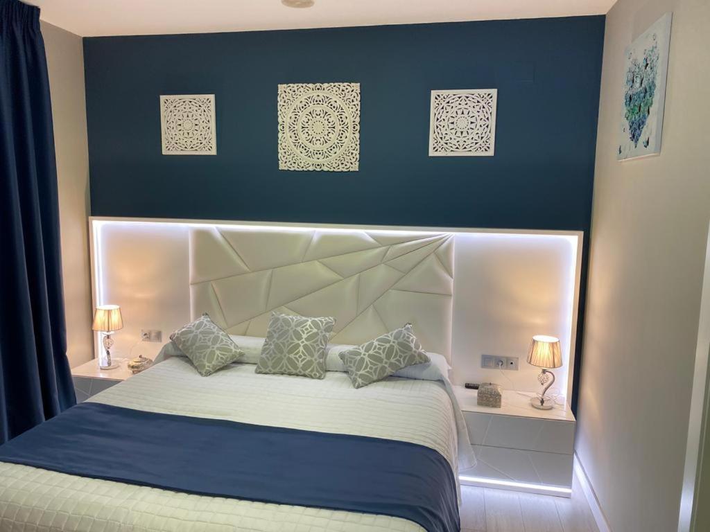 Cama o camas de una habitación en Los Bronces