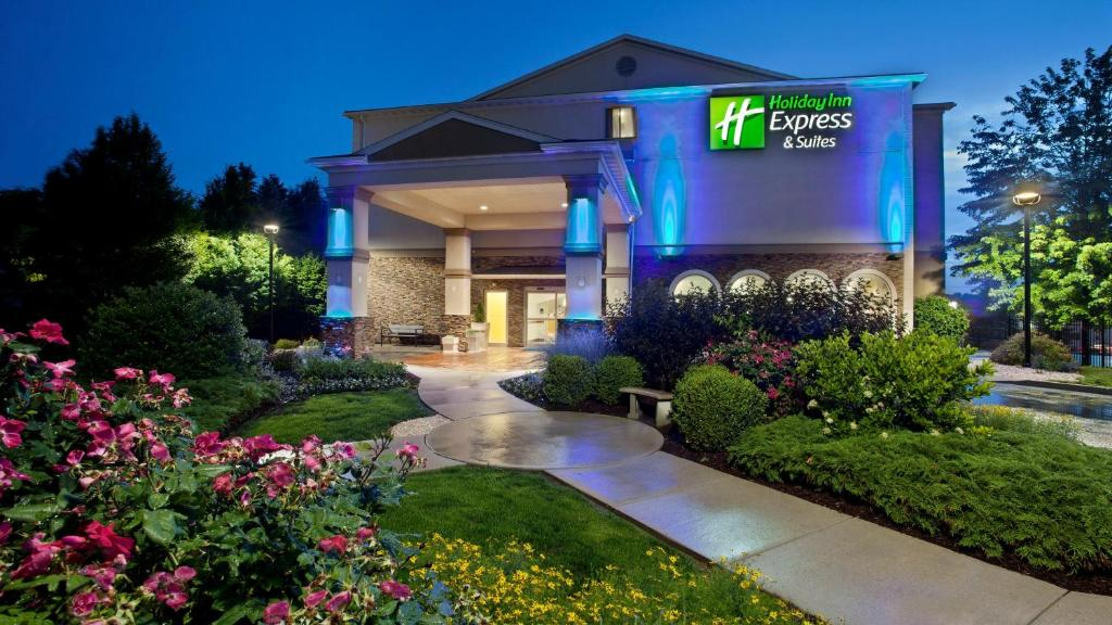 The Holiday Inn Express & Suites Allentown West.