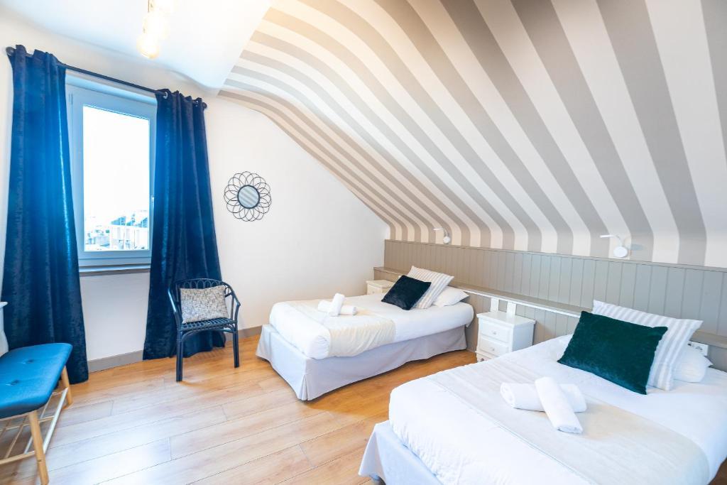Hôtel Côte Basque - Laterooms