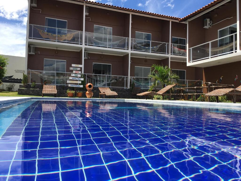 The swimming pool at or close to HOTEL VIRGULINO
