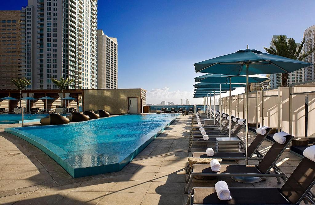 The swimming pool at or near Kimpton EPIC Hotel, an IHG Hotel