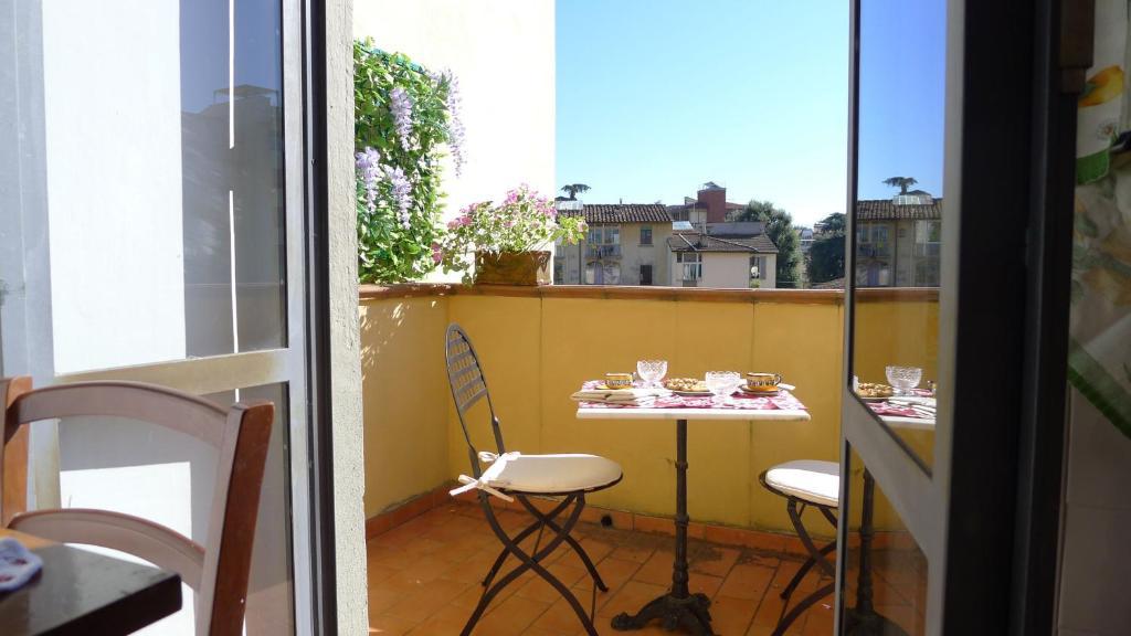 Un balcón o terraza de Fra Bartolomeo
