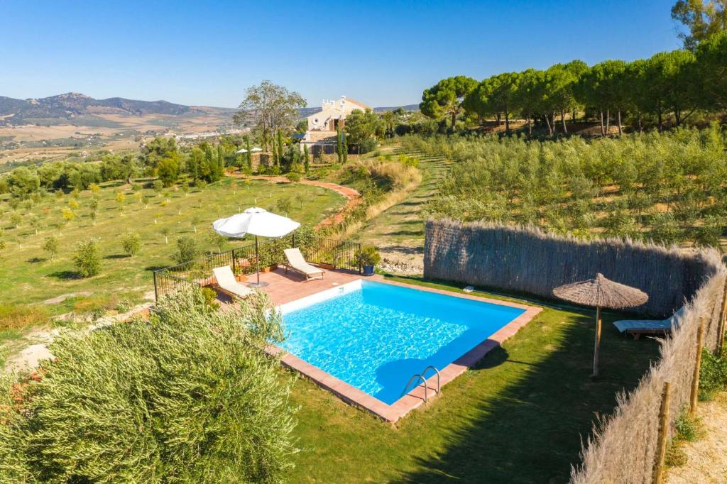 A view of the pool at Cortijo LA Organic or nearby