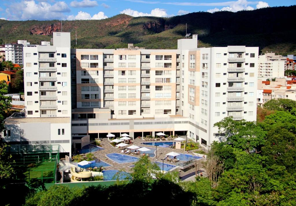 A view of the pool at Flat Park Veredas 312 - Rio Quente or nearby