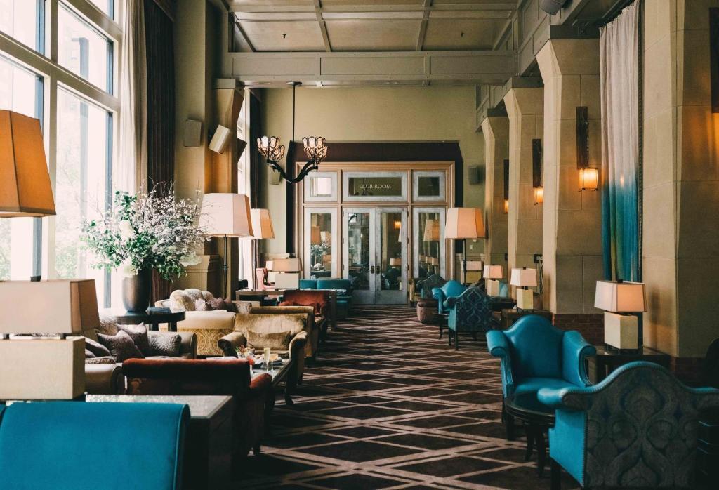Een restaurant of ander eetgelegenheid bij Soho Grand Hotel
