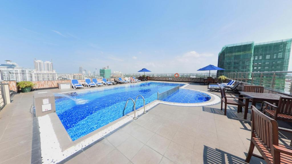 The swimming pool at or near Pearl Grand Hotel