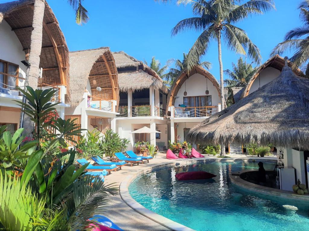 المسبح في Coco Cabana أو بالجوار