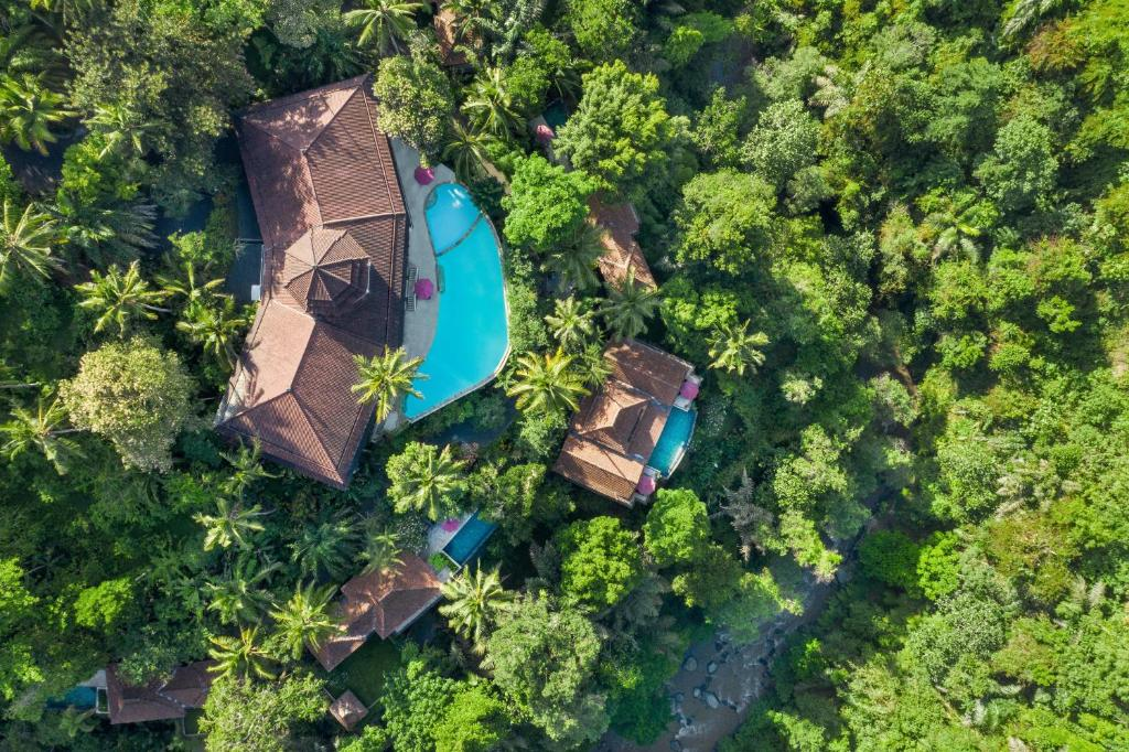 A view of the pool at Ayung Resort Ubud or nearby