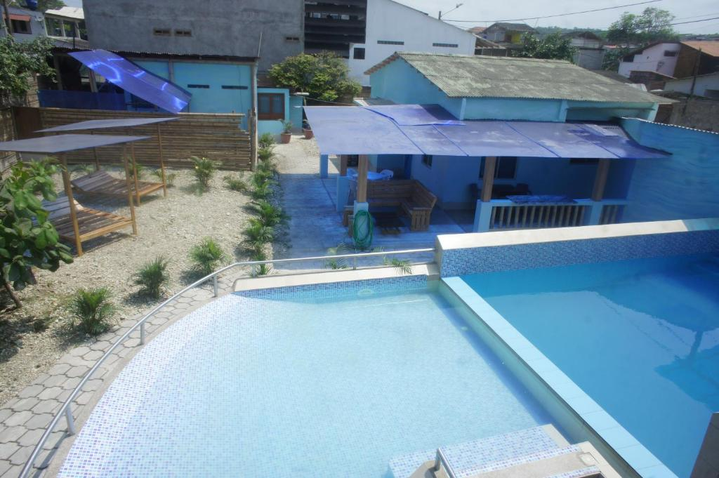 Vista de la piscina de Olón Beach Villa by Rincón d'Olón o alrededores