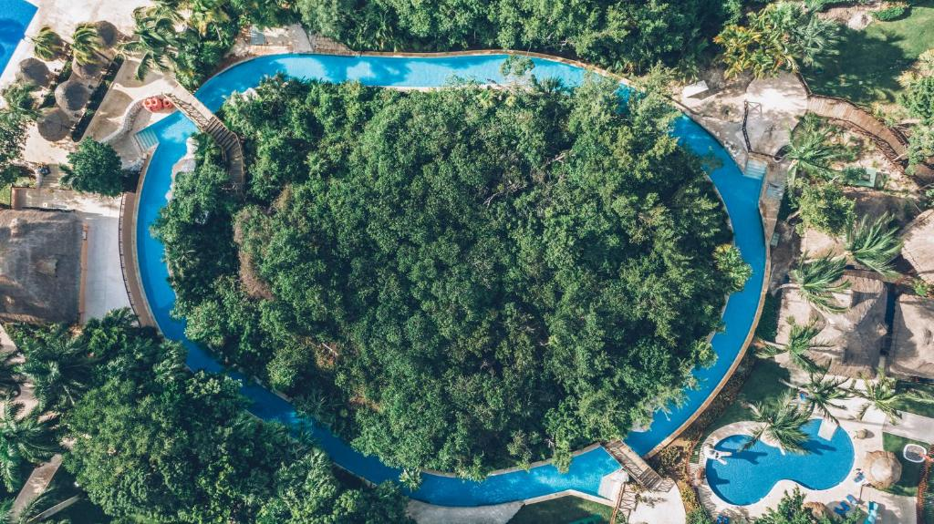 A bird's-eye view of Iberostar Selection Paraiso Maya Suites