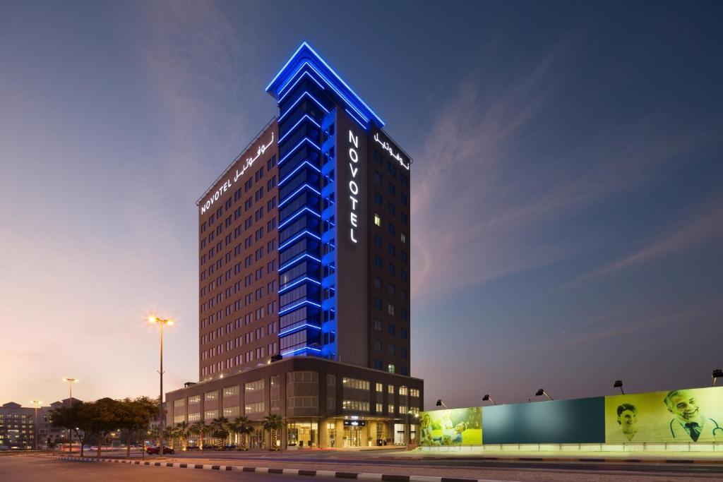 The Novotel Bur Dubai - Healthcare City.