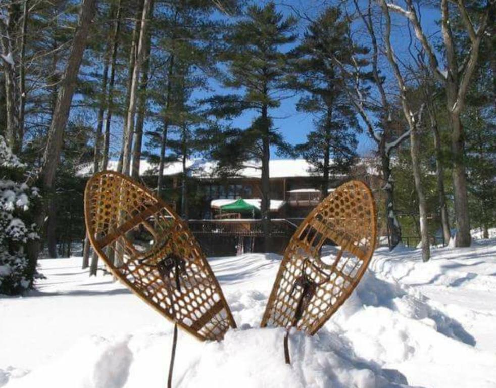 Westwind Inn on the Lake im Winter