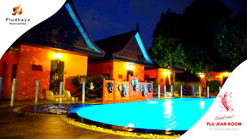 The swimming pool at or near Pludhaya Resort & Spa