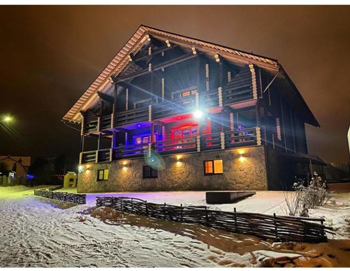 Гостевой дом Мышкин двор Барабановъ зимой