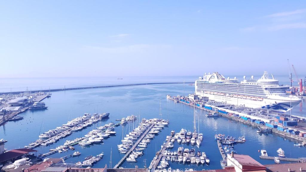 A bird's-eye view of Casa sul mare