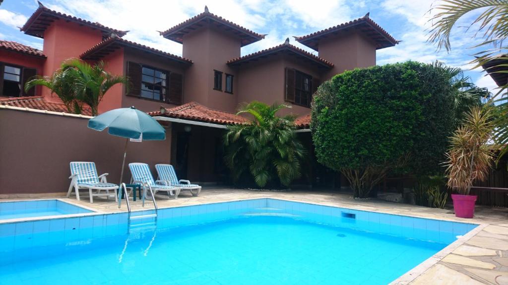 A piscina localizada em Domus 7 ou nos arredores