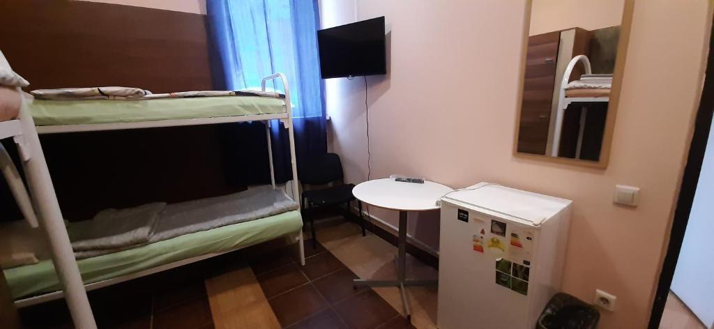 Ванная комната в Гостиница Острожский Вал