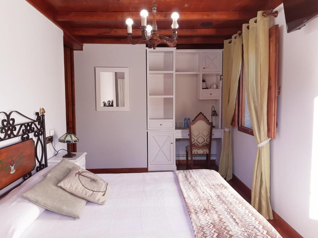 Cama o camas de una habitación en Casa de Casal