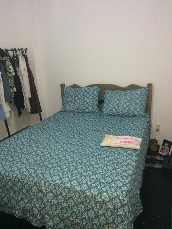 A bed or beds in a room at Varanda de mainha