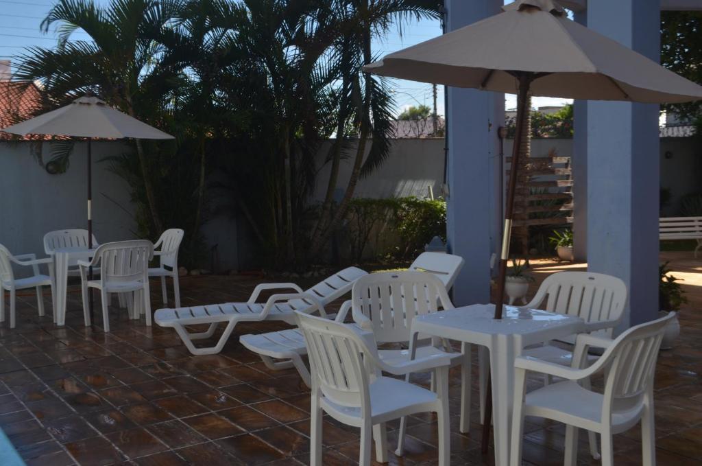 Un restaurante o sitio para comer en Hotel Obino São Borja