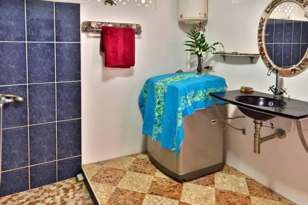 Um banheiro em Le Rocher de Tahiti
