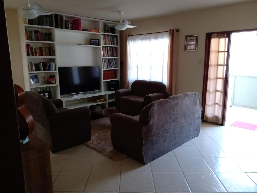 A seating area at Casa Garcia