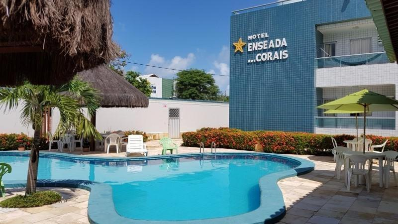 The swimming pool at or near Hotel Enseada dos Corais