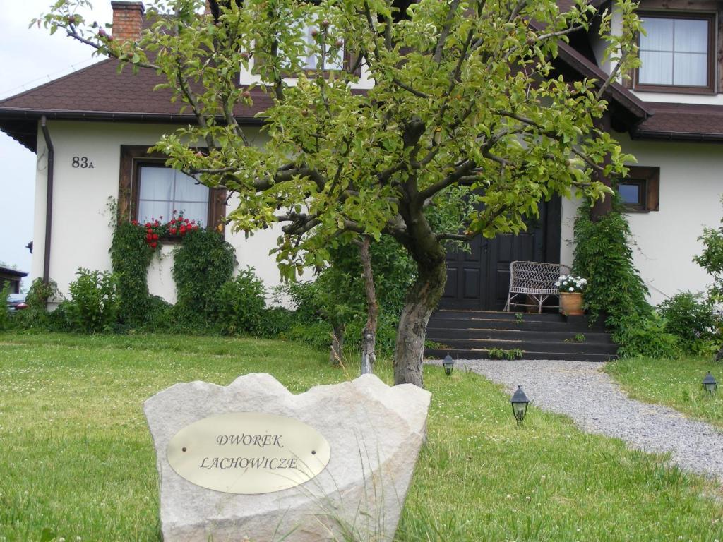 Ogród w obiekcie Dworek Lachowicze