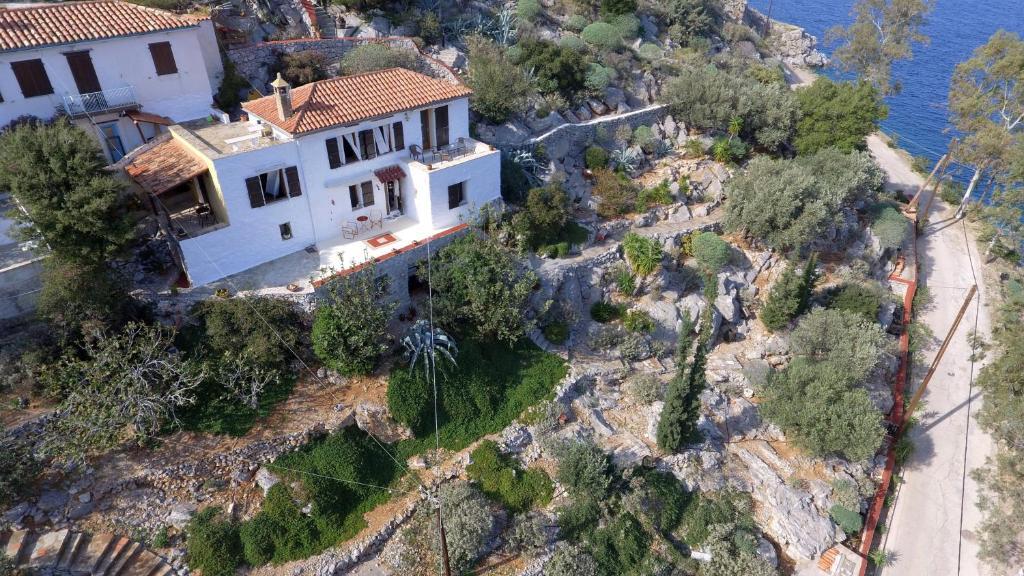 Άποψη από ψηλά του Arbeli house
