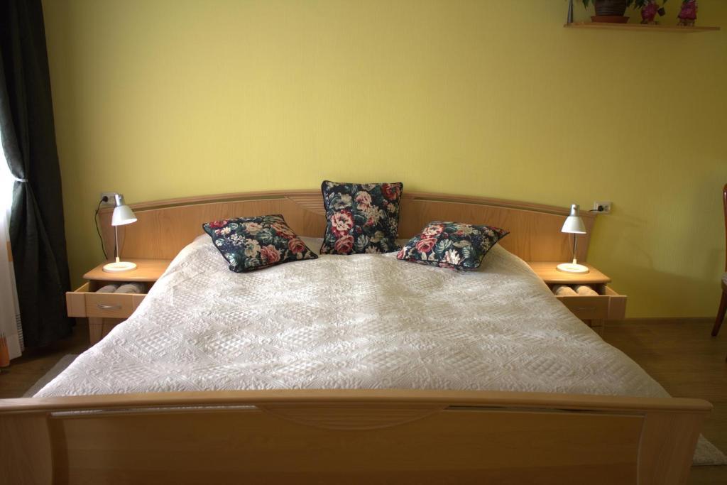 Gulta vai gultas numurā naktsmītnē Brīvdienu dzīvoklis