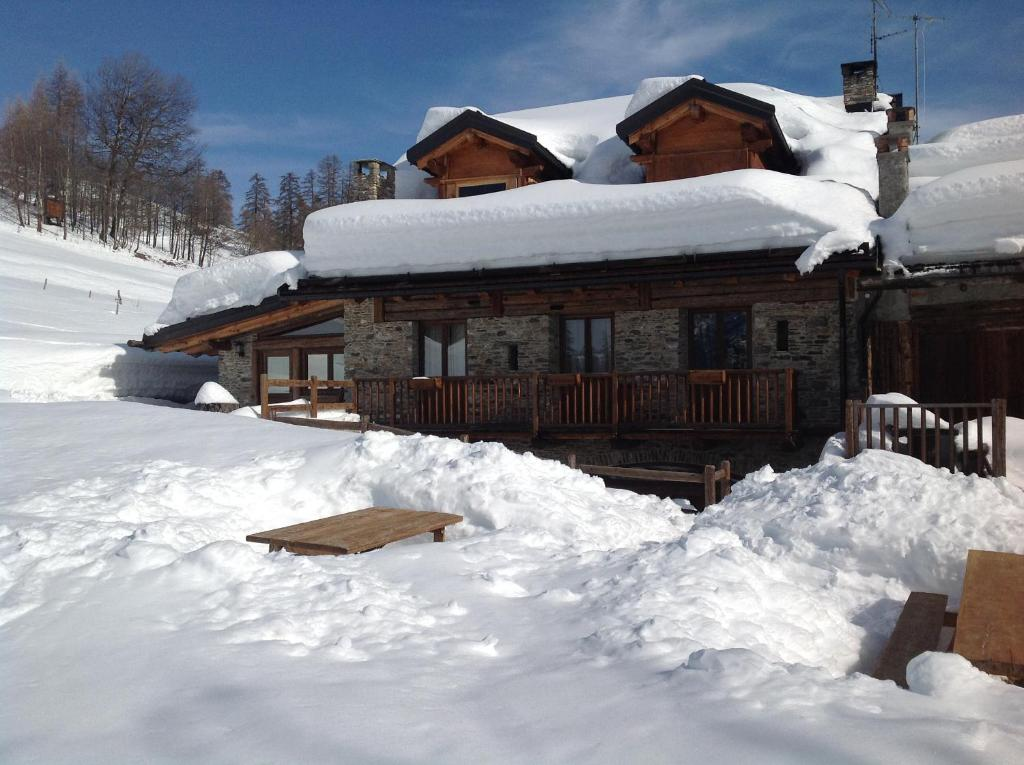 Agriturismo il Fiocco during the winter