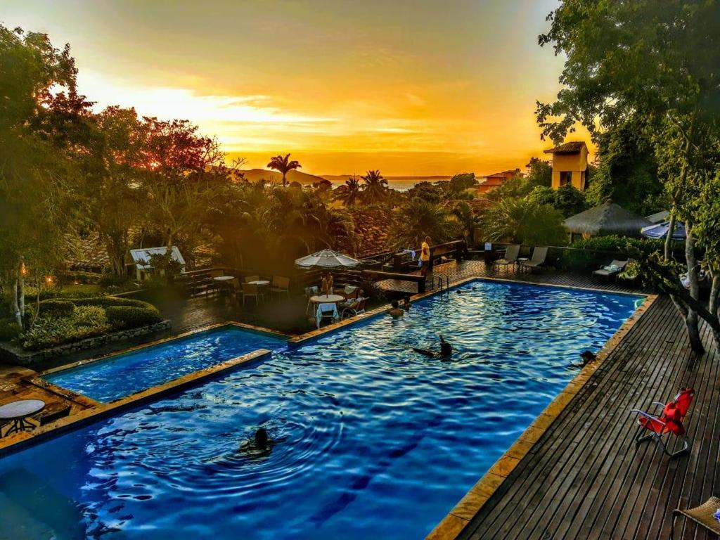 The swimming pool at or near Hotel La Forêt & Beach Club