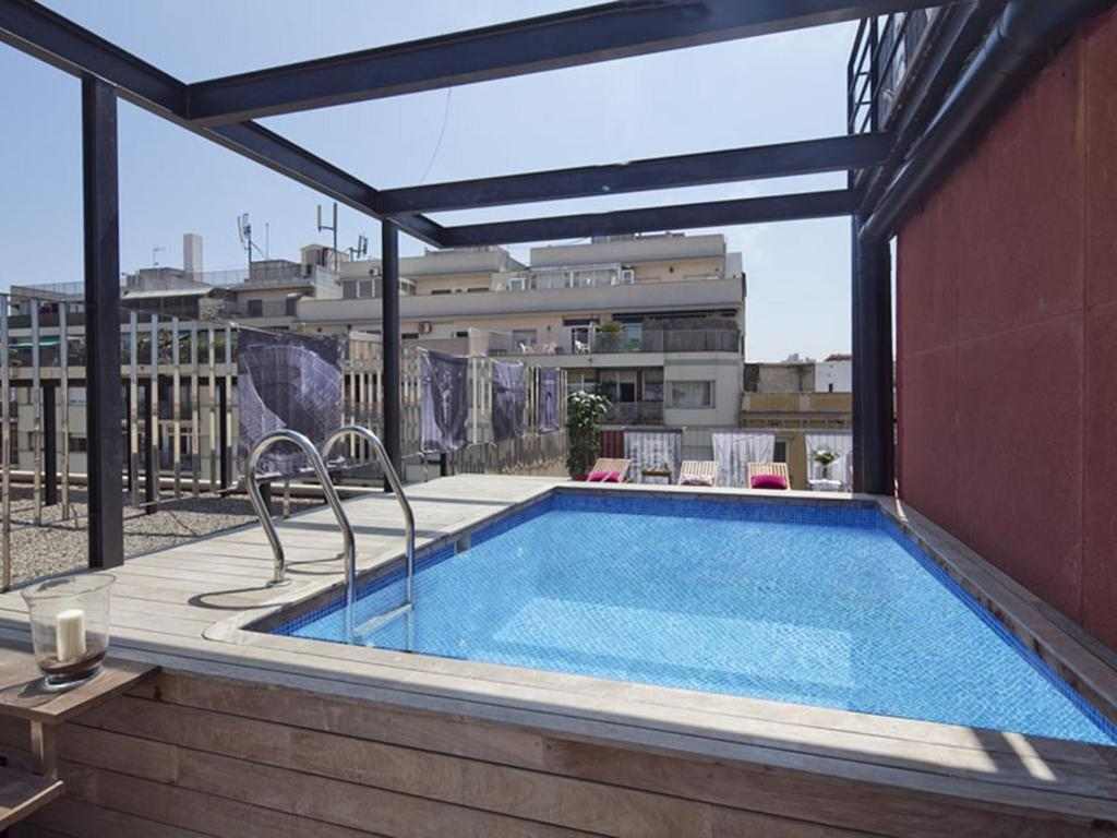 Apartment Barcelona Rentals   Pool Terrace in City Center ...