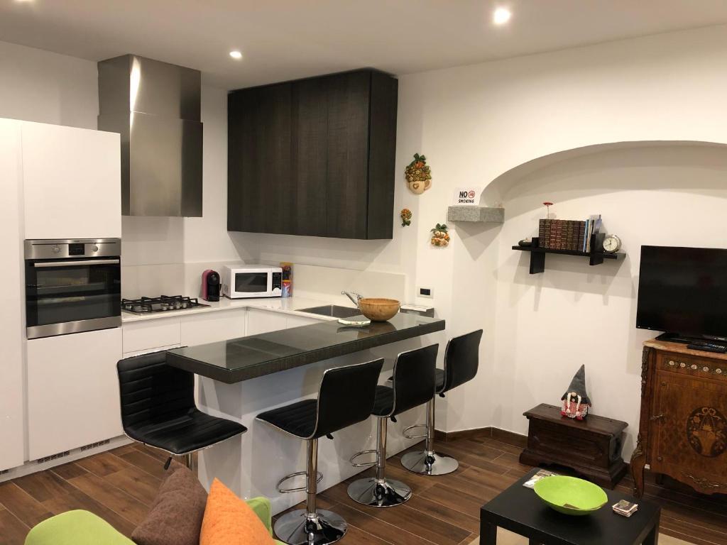 Cucina o angolo cottura di Appartamento Melissa