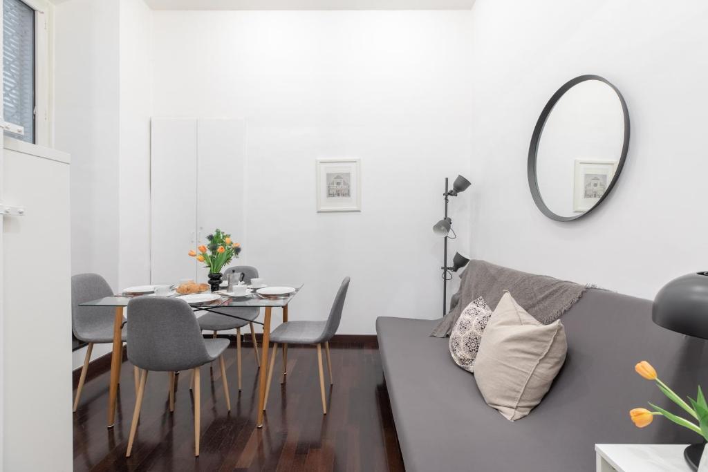 Area soggiorno di San Giovanni Brand New Apartment