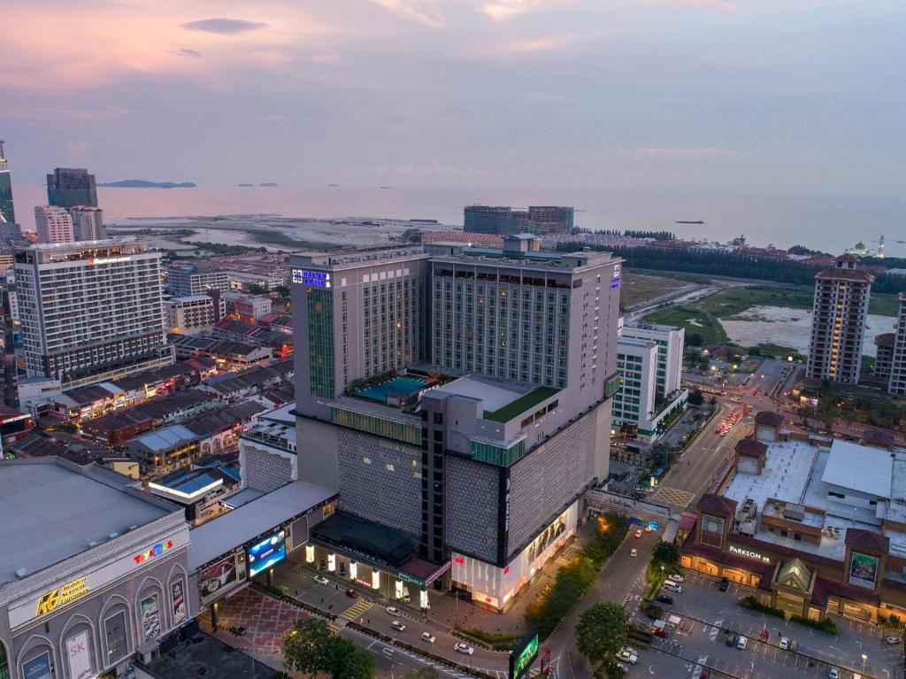 A bird's-eye view of Hatten Hotel Melaka