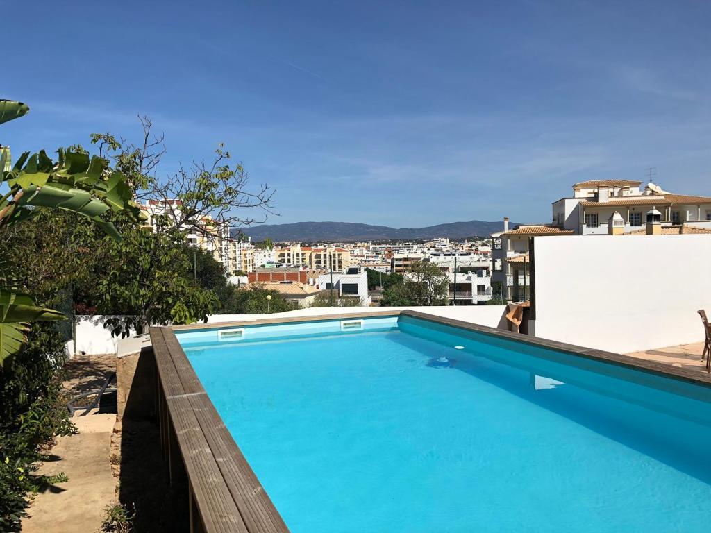 The swimming pool at or near Quinta da Paz B&B